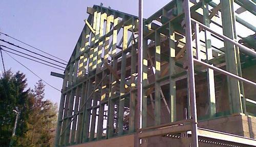 Constructeur en ossature bois en wallonie belgique for Constructeur maison wallonie